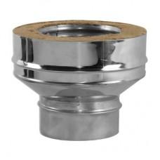 Переходник на конус моно-термо V50R Вулкан с D300 на D300/400 (AISI-321/304/0,5мм)