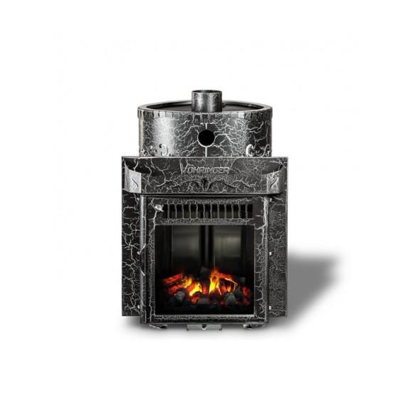 Печь банная Ферингер Малютка 'До 16 м³' -Экран (Антик) (закрытая каменка)