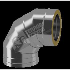 Отвод Термо 87° ТиС ОТ-Р D150/210 (AISI-430/430 0,8мм)
