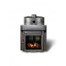Печь банная Ферингер Малютка 'До 16 м³' -Экран (Казанские мотивы) (закрытая каменка)