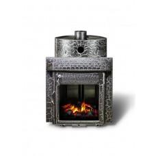 Печь банная Ферингер Классика 'До 23 м³' -Экран (Казанские мотивы) (закрытая каменка)