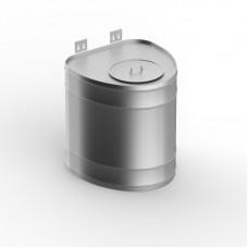 Бак для теплообменника УМК вертикальный 60л (нерж/0.5мм)