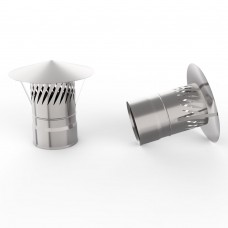 Зонт УМК с искрогасителем D100 (AISI-439/0,5мм)