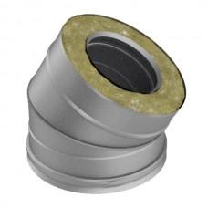 Отвод 30° V50R Вулкан D104/200 (AISI-321/304/0,5мм)