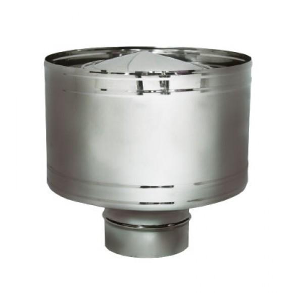 Дефлектор Вулкан без изоляции D180, матовый