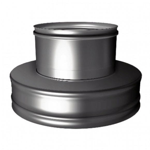 Переходник термо-моно V50R Вулкан D250/350 на D250 (AISI-321/304/0,5мм)