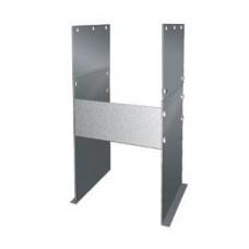 Основание напольное для опоры Вулкан без изоляции D200 (AISI-304/0,5мм), зеркальное