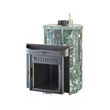 Печь банная Ферингер Мини 'До 16 м³' - Облицовка 'Змеевик' Наборные ламели (закрытая каменка)