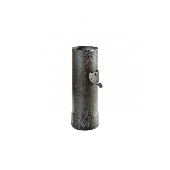 Дымоход Ферингер стартовый с шибером Ф115 L 0.3 м. (Антик)