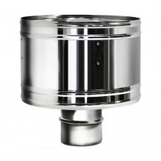 Дефлектор Вулкан без изоляции D104, зеркальный