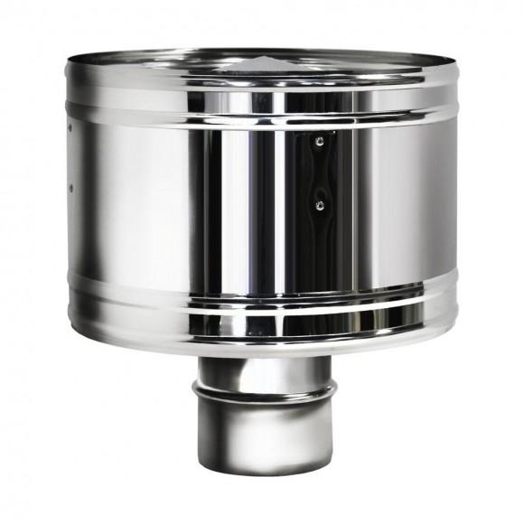 Дефлектор Вулкан без изоляции D130, зеркальный
