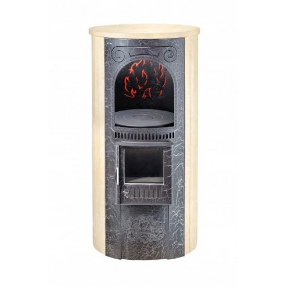 Печь отопительно-варочная Ферингер «Лада» - Сильвия Оро (до 150 м3)