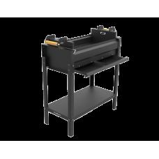 Мангал Grillver Редлайнер Стандарт Лифт Эйр (перфорированное дно, зольный ящик и регулировка подъёма мяса)