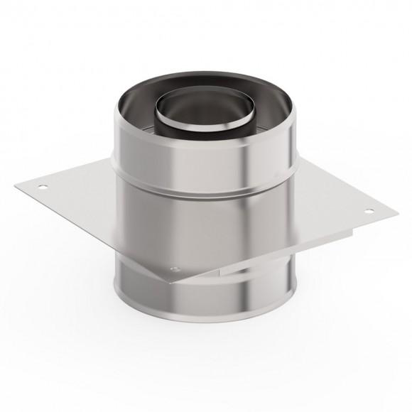 Монтажная площадка УМК стеновая, D115/200 (AISI-439/439 1,0/0,5 мм)