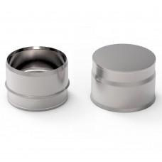 Заглушка УМК глухая внутренняя,D200 (AISI-439/0,5мм)