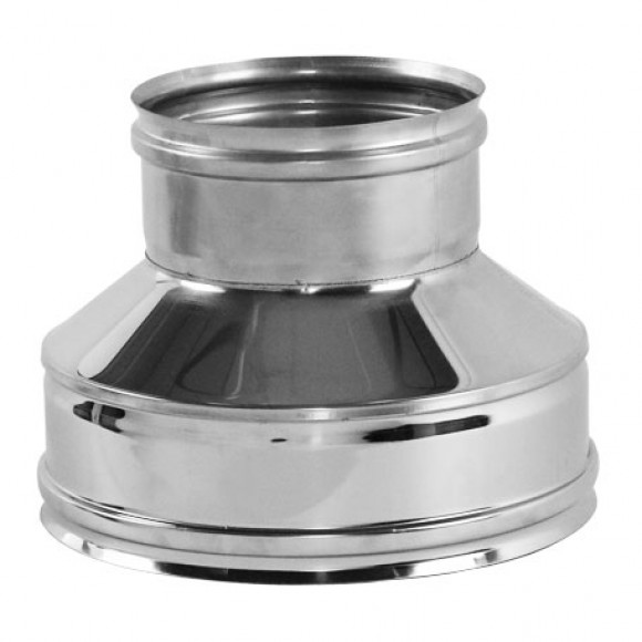 Переходник на конус термо-моно V50R Вулкан D300/400 на D300 (AISI-321/304/0,5мм)