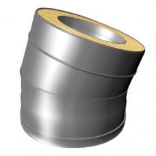Отвод 15° V50R Вулкан D104/200 (AISI-321/304/0,5мм)