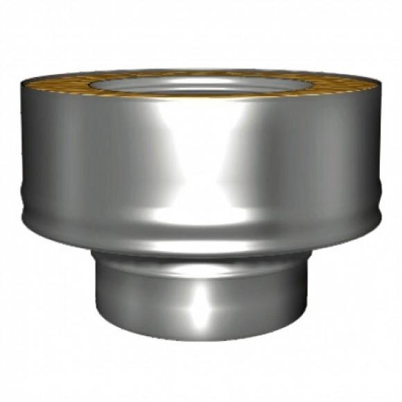 Переходник моно-термо V50R Вулкан с D115 на D115/215 (AISI-321/304/0,5мм)