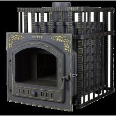Чугунная Банная Печь «Гефест» (ПБ-100ПС-ЗК)