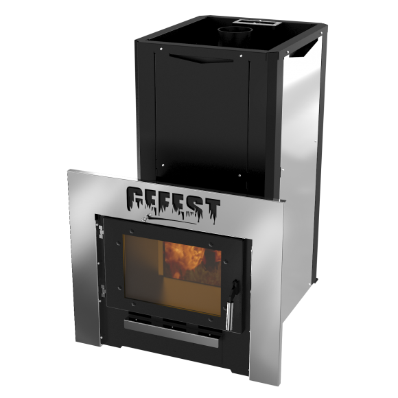 Банная печь Термокрафт GEFEST-I (комбинированная каменка)