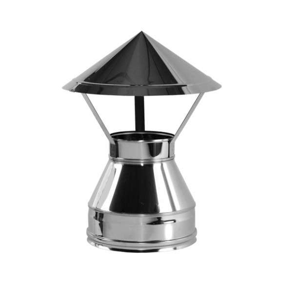 Зонт V50R Вулкан D250/350 (AISI-321/304/0,5мм)
