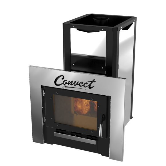 Банная печь Термокрафт Convect-II (открытая каменка)