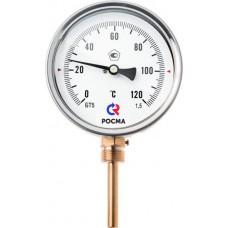 Термометр биметалический БТ-3 2.211 L=50 мм.