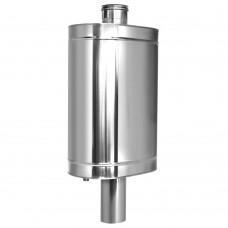 Натрубный бак для воды D115 48л нерж 439 0.8 мм