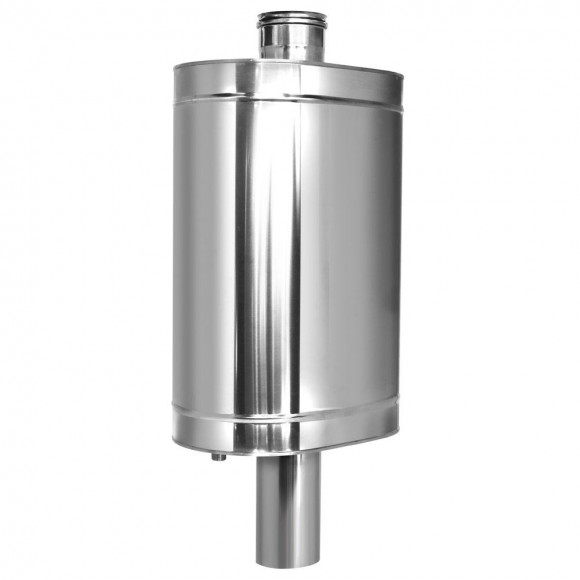Натрубный бак Дымок для воды D115 (AISI-439/0,8мм) 48л