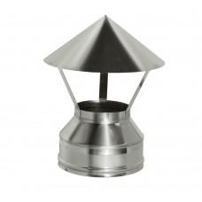 Зонт Дымок d=130/210, (AISI 439/439, 0,5/0,5мм)