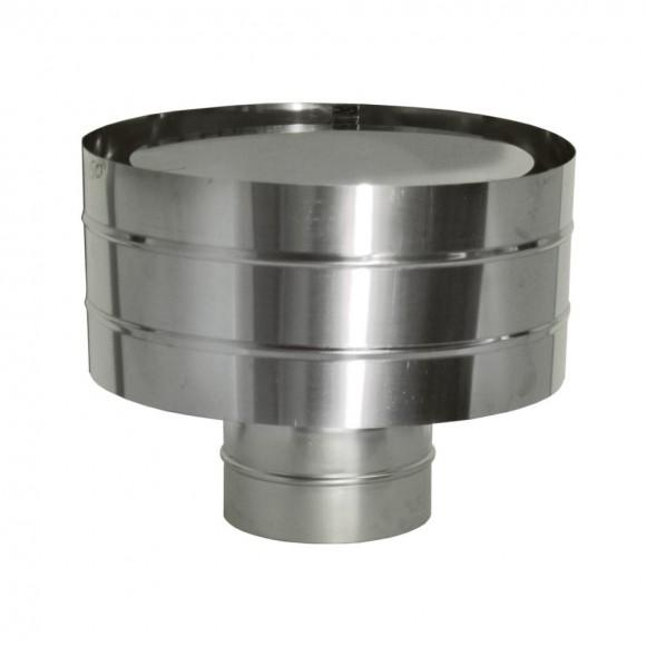 Дефлектор Дымок (зонт с ветрозащитой), d=115, (AISI 439/0,5мм)