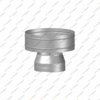 Дефлектор Термо   нерж, t0.5 / нерж, t0.5   d150 / D210