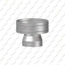 Дефлектор Термо   нерж, t0.5 / нерж, t0.5   d80 / D160