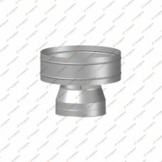 Дефлектор Огнерус Термо d200/D280, (AISI 430/0,5мм)