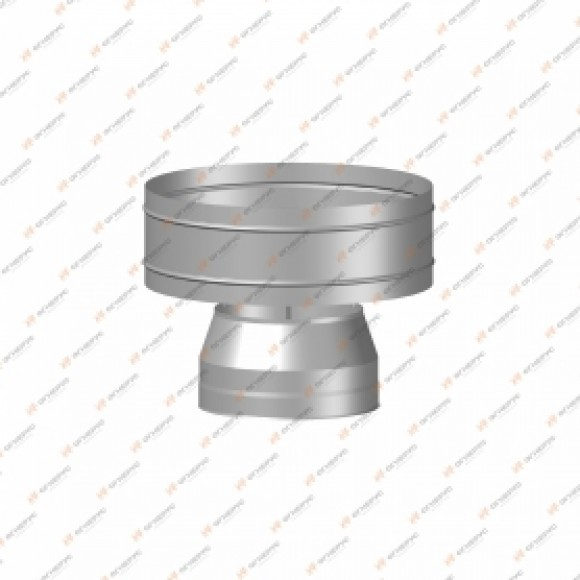 Дефлектор Огнерус Термо d200/D260, (AISI 430/0,5мм)