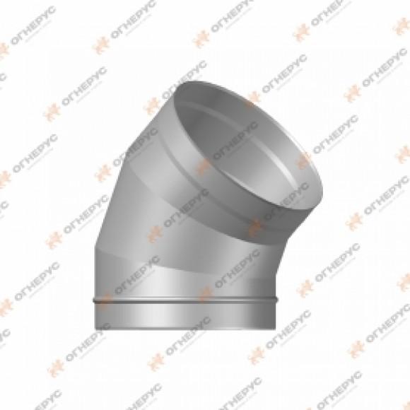 Отвод 45º Огнерус Моно, d140 (AISI 430/1,0мм)