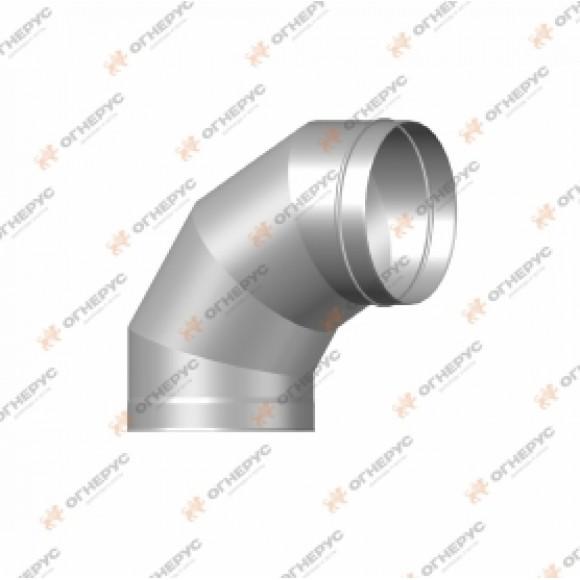 Отвод 90º Огнерус Моно, d120 (AISI 430/1,0мм)