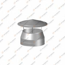 Зонт Огнерус Термо d300/400, (AISI 430/430, 0,5/0,5мм)