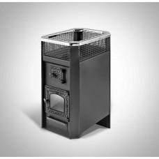 Печь банная Радуга ПБ-11Б сталь 6 мм под навесной бак 45 л (до 20 м³)