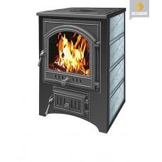 Печь-Камин ВЕЗУВИЙ ПК-01 (205) с плитой  талькохлорит 12 кВт