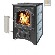 Печь-Камин ВЕЗУВИЙ ПК-01 (205) с плитой и т/о талькохлорит 12 кВт