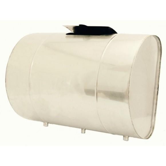 Бак для теплообменника УМК горизонтальный 90л (нерж/0.8мм)