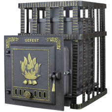 Чугунная Банная Печь «Гефест» (ПБ-02C ЗК)