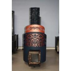 Чугунная Банная Печь Тигра Арабская ночь (закрытая каменка) (до 30 м³)