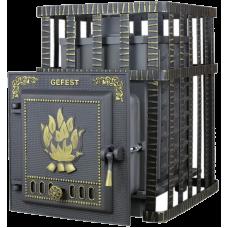 Чугунная Банная Печь «Гефест» (ПБ-04C ЗК)