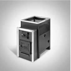 Печь банная Радуга ПБ-21 сталь 6 мм ТО (до 25 м³)