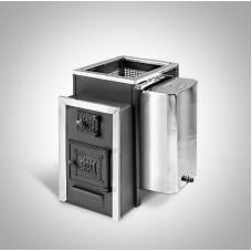 Печь банная Радуга ПБ-21Б сталь 6 мм под навесной бак 45 л (до 25 м³)