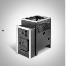 Печь банная Радуга ПБ-22 сталь 6 мм ТО (до 25 м³)