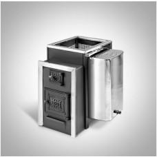 Печь банная Радуга ПБ-22Б сталь 6 мм под навесной бак 45 л (до 25 м³)