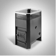 Печь банная Радуга ПБ-11 сталь 4 мм ТО (до 20 м³)